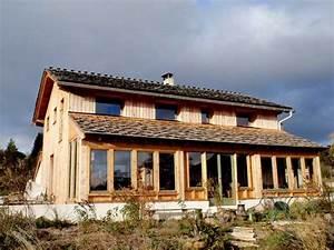 nos maisons paille pretes a vivre ossature bois paille With maison bois et paille