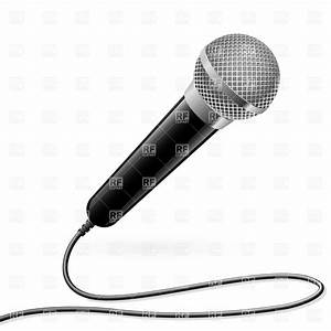 Microphone for karaoke Royalty Free Vector Clip Art Image ...