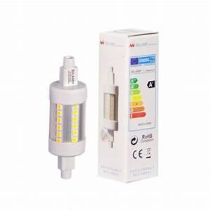 Ampoule Led R7s 78mm : ampoule led r7s 78mm 5w 220v smd2835 36led 360 ~ Melissatoandfro.com Idées de Décoration