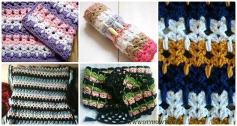crochet abstract cats stitch  pattern