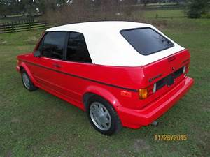 1992 Vw Golf Rabbit Cabriolet Mk1 Wolfsburg For Sale