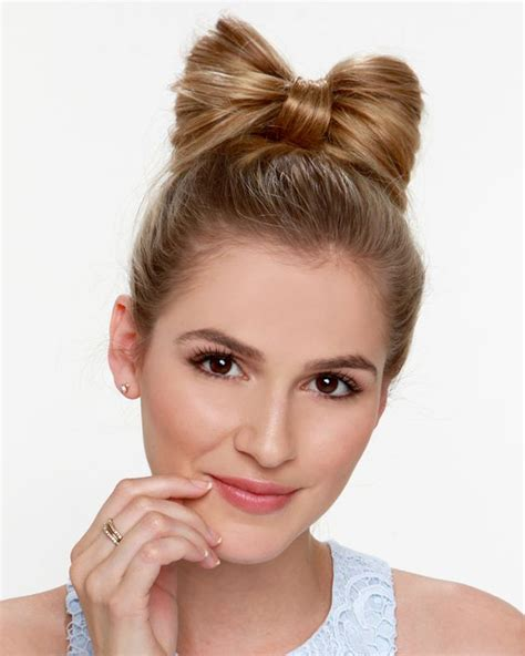 hair styles with bows bow hairstyle ideas 2017 haircuts hairstyles and