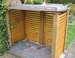 Mülltonnenverkleidung Selber Bauen : dachplatte ausrichten garten deko ~ Watch28wear.com Haus und Dekorationen