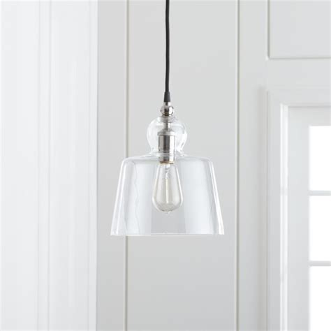 Lander Polished Nickel Pendant Light   Reviews   Crate and