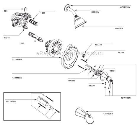 Moen Tbn Parts List Diagram Ereplacementparts