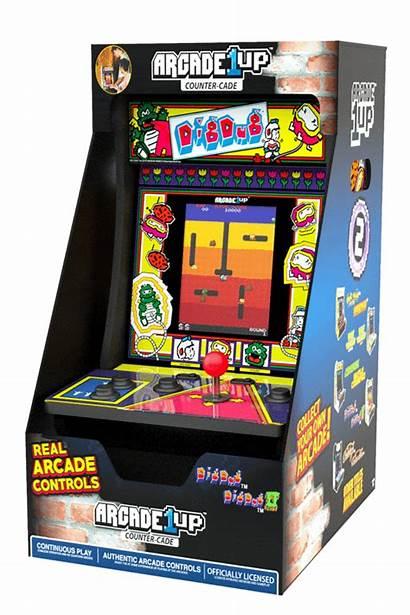 Counter Arcade Arcade1up Cade Dug Dig Cades