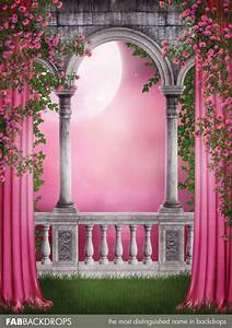 Enchanted Castle Photo Background / Princess Backdrop