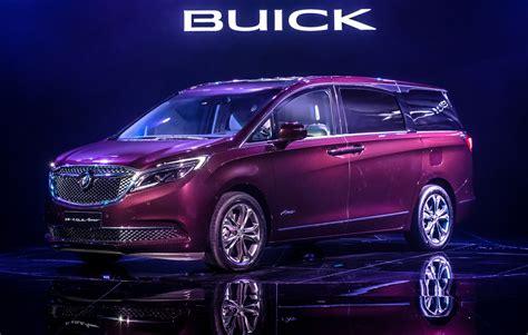 buick avenir model   china  minivan