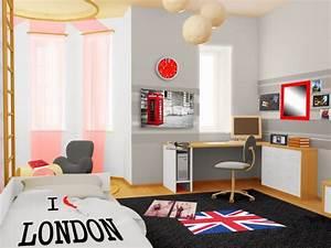 Deco Pour Chambre Ado : dormitorios juveniles muy modernos dormitorios colores y estilos ~ Teatrodelosmanantiales.com Idées de Décoration