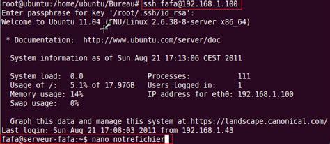 bureau distant windows 7 utiliser la commande scp copier un fichier à distance ssh
