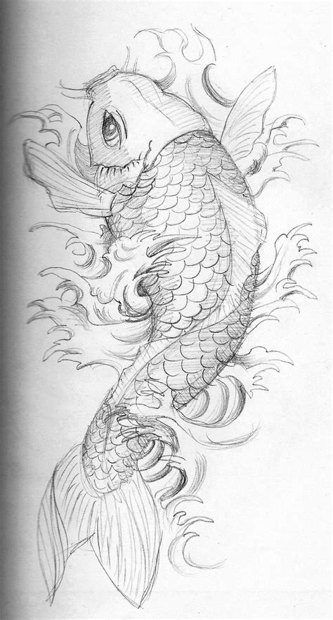a good Koi fish. Maybe much smaller with some cherry
