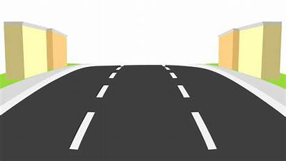 Road Background Straight Moving Transparent Clipart Highway