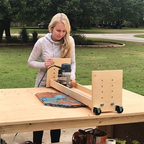 router flattening sled   router sled