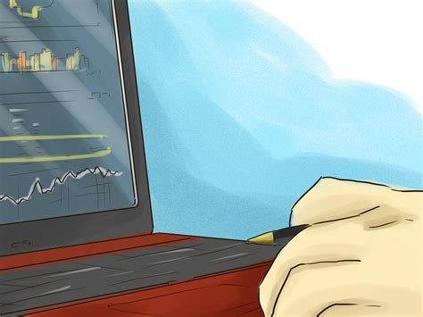 ways  buy stock   broker wikihow