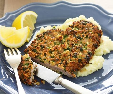 Almond Crusted Veal Schnitzel Recipe