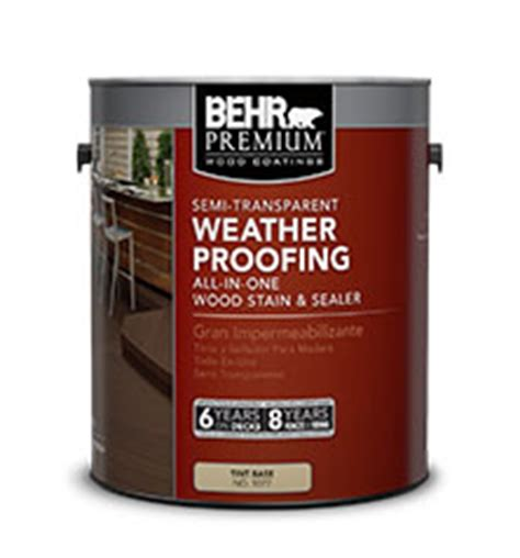 Behr Deck Cleaner And Brightener Directions by Solid Color Weatherproofing All In One Wood Stain Behr