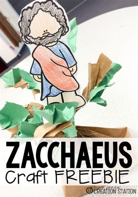 story  zacchaeus zacchaeus bible crafts  kids