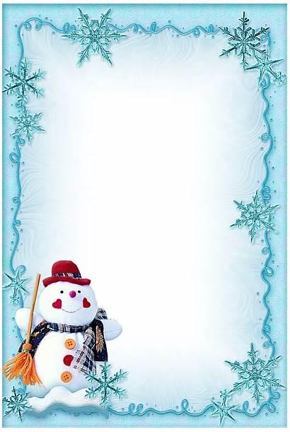 Border Winter Transparent Clipart Webstockreview Poster