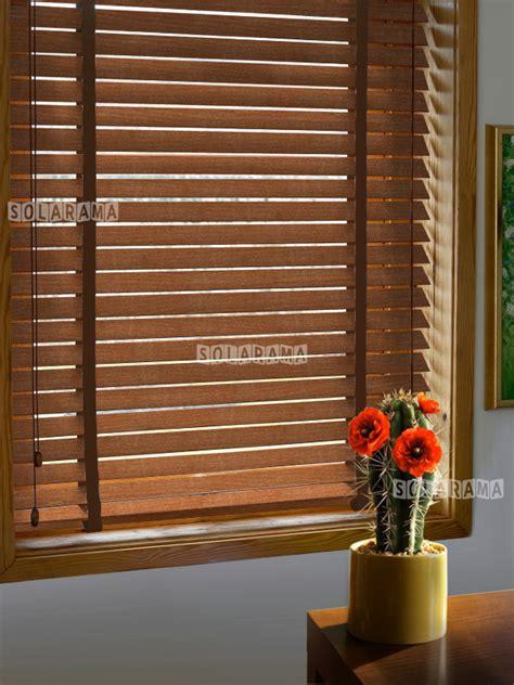 store v 233 nitien bois retro 50 mm sur mesure solarama vos stores sur mesure en ligne