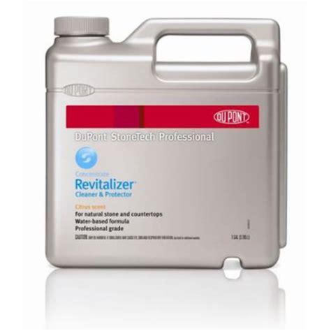dupont stonetech professional dupont stonetech professional revitalizer cleaner protector citrus 1 gallon walmart com