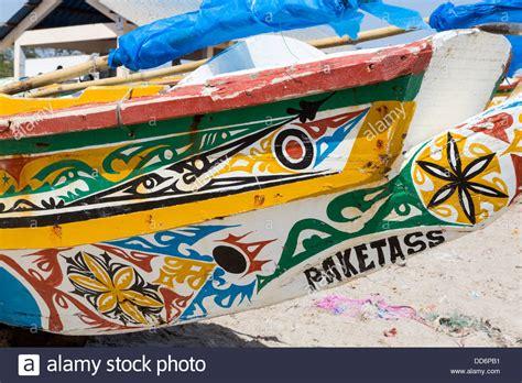 Fishing Boat Paint Designs by Dakar Senegal Painted Designs On Fishing Boats At