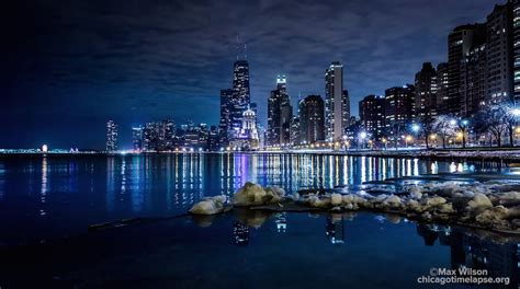 Night Boat Cruise In Chicago by New Time Lapse Footage Reveals A Colorful Chicago At Night