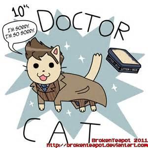 doctor cat doctor cat who fan by brokenteapot on deviantart