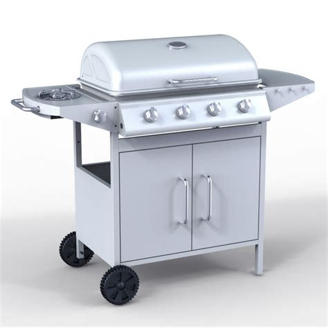 de 4 1 burner bbq gas grill better home and gardens in bbq