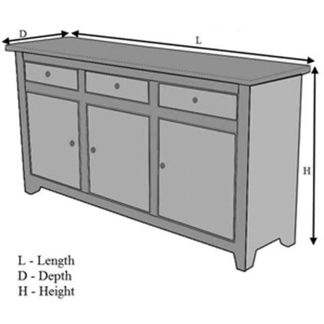 Standard Sideboard Height solid wood kansas city black buffet cabinet sideboard