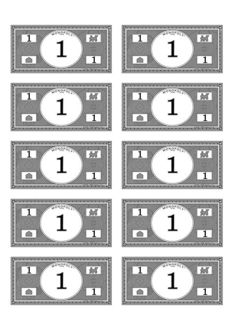 monopoly money  budget pinterest