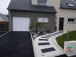 Amnagement alle entre maison amazing excellent attrayant for Amazing idee amenagement exterieur entree maison 2