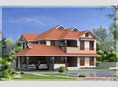 7 beautiful Kerala style house elevations Kerala home