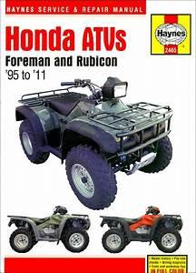 Honda Foreman 400  450  Rubicon 500 Repair Manual 1995
