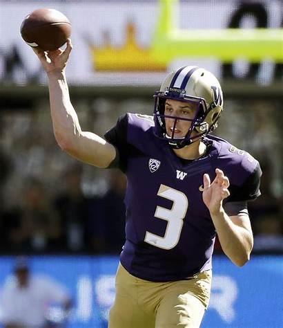 Quarterback Football Washington Jake College Browning Donna