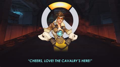 Overwatch Tracer Portrait Wallpaper 1920 X 1080 By