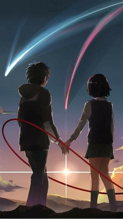 Anime Kimi Wa Taki Mitsuha Nawa Parejas