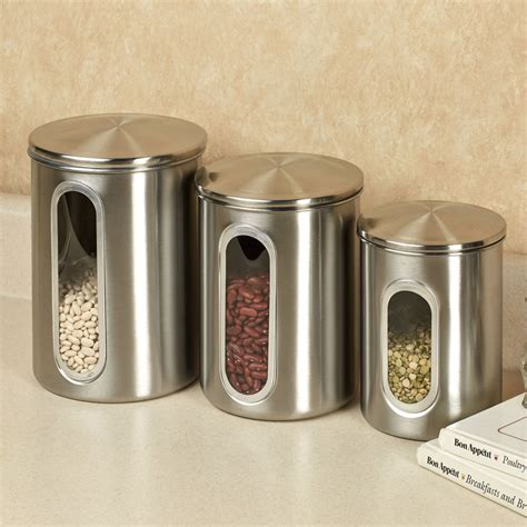 Canisters For Kitchen by Kitchen Excellent Stainless Steel Kitchen Canister