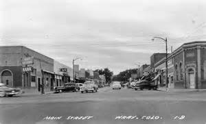 Main Street Yuma Colorado