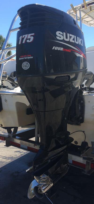 Suzuki 175 Outboard by 175 Hp Suzuki 4 Stroke Outboard Boat Motor For Sale