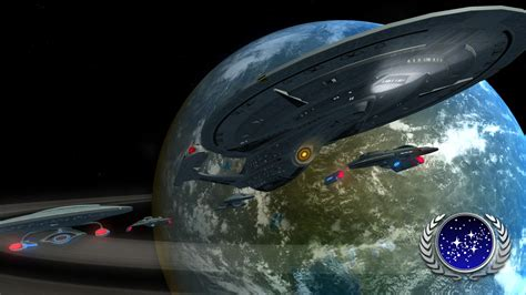 united federation  planets image star trek armada