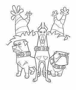 Cartoon Dog Coloring Pages - Coloring Home