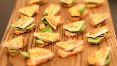 german canapes are you avin a giraffe canapé recipes food uk