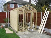 building plans for sheds Building a Shed