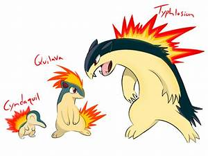 Pokemon Cyndaquil Evolution | www.pixshark.com - Images ...