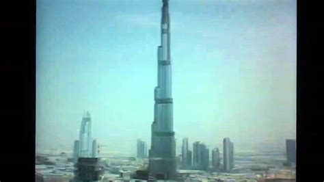 burj khalifa time lapse youtube