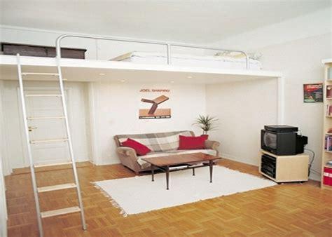 deco chambre petit espace lit mezzanine une pièce supplémentaire cosy et intimiste
