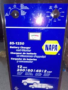 Napa 85-1250 battery charger and starter (Tools