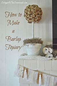 15, Awesome, Diy, Home, Decor, Ideas, You, Can, Make, Using, Burlap