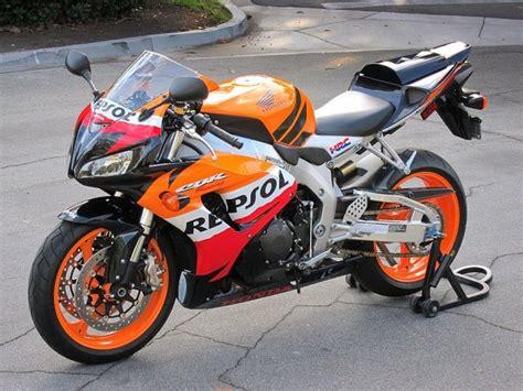 2007 Honda Cbr1000rr Repsol With 285 Miles