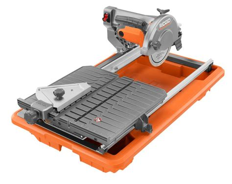 Ryobi Tile Saw Ws7211 by Ryobi Tile Saw Home Depot Tile Design Ideas